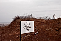 Coffee at the Syrian Border (Golan Heights, Israel)